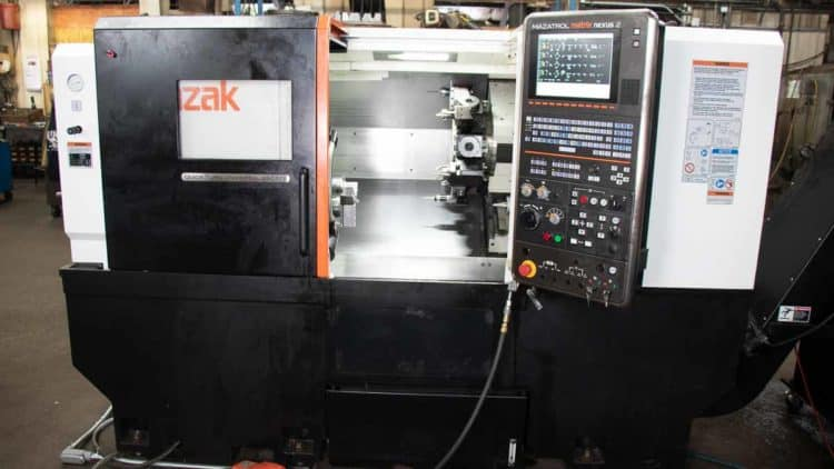 lathe with live tooling functions