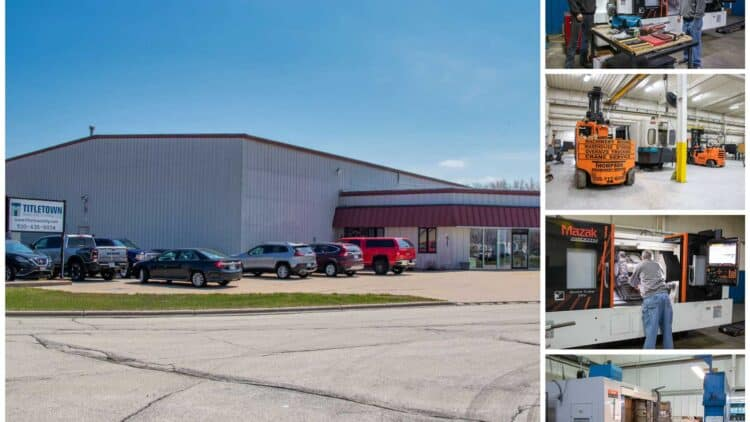 Titletown Manufacturing new facility